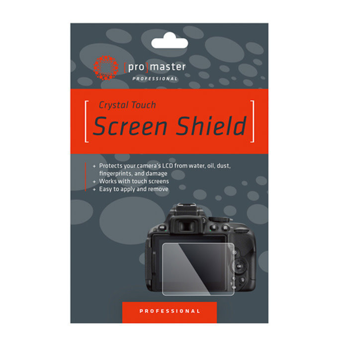 ProMaster Crystal Touch Screen Shield - Canon SL3, SL2, EOS RP