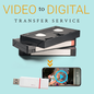 Tapes to Digital Service