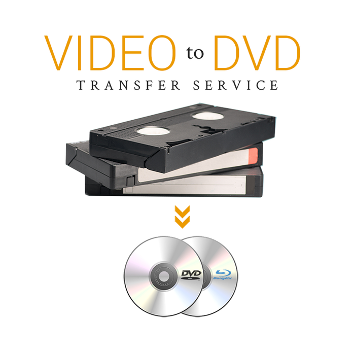 Tapes to DVD Service