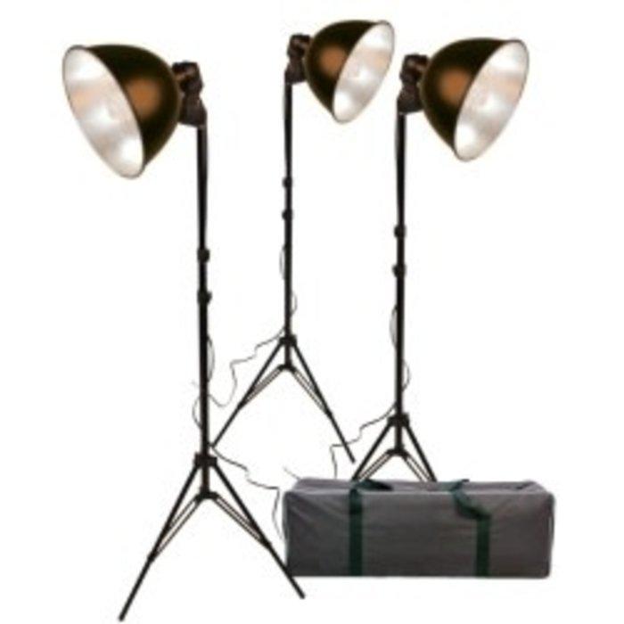 ProMaster Basic 3-Light Reflector Kit