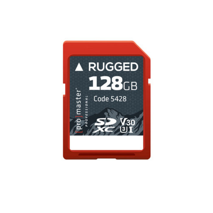ProMaster Rugged SDXC 128gb UHS-I V30