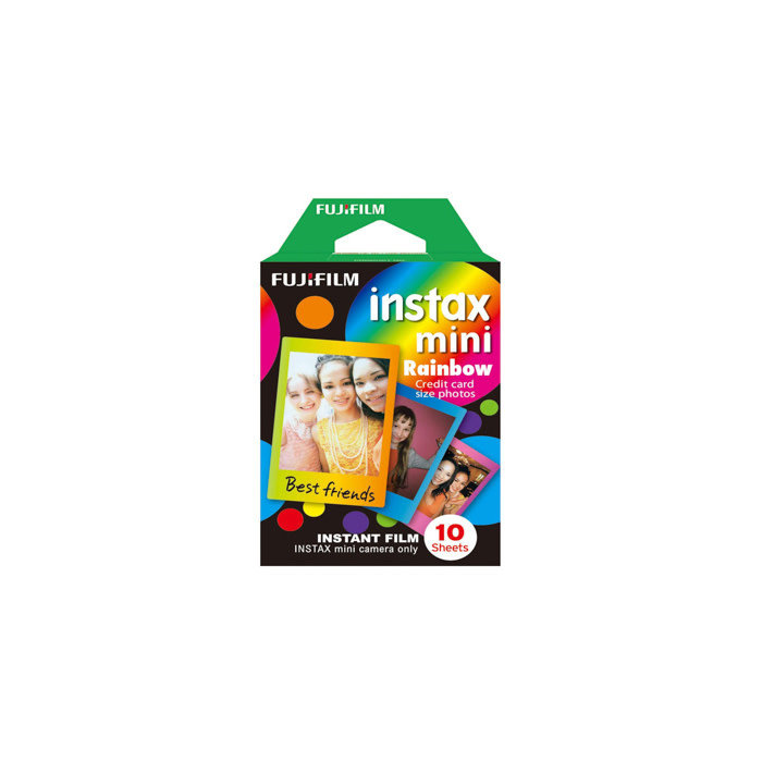 Fuji Instax Mini Rainbow Film 1 Pack