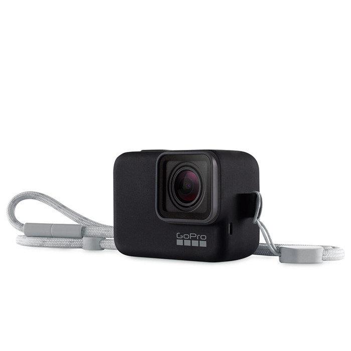 GoPro Sleeve & Lanyard (Black)
