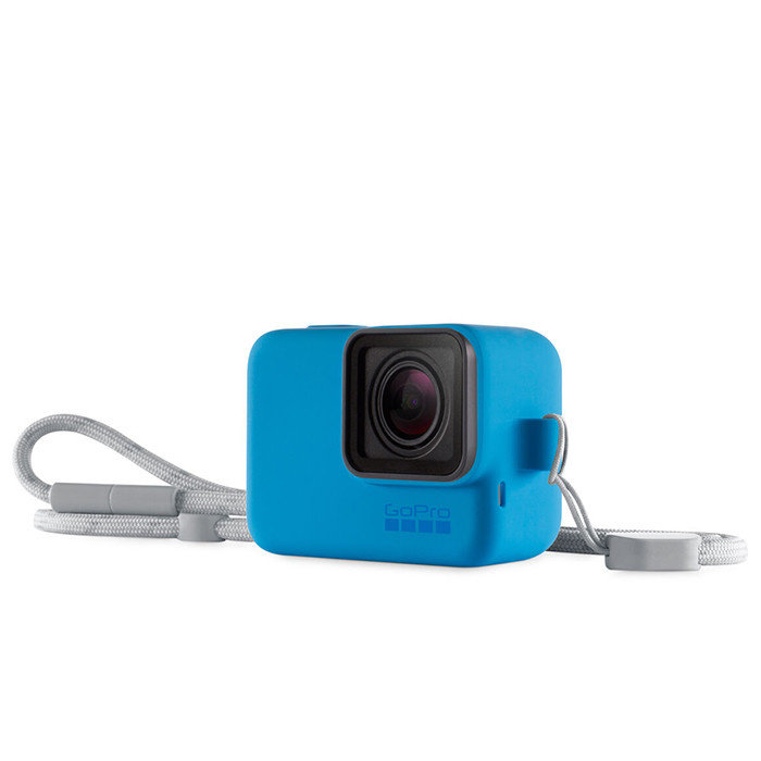 GoPro Sleeve & Lanyard (Blue)