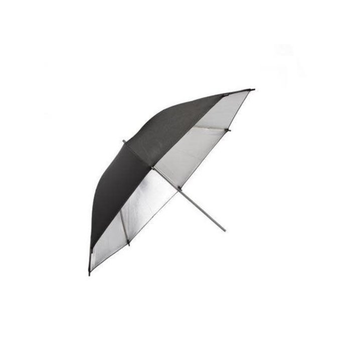 "ProMaster 36"" Black and Silver Umbrella"