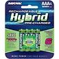 Rayovac Hybrid AAA NiMH Battery
