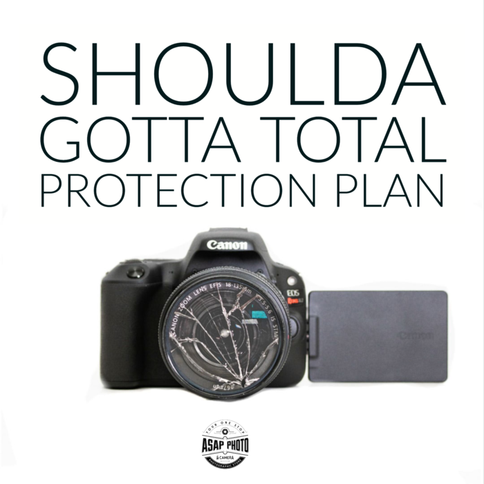 Total Protection Plan 5-Year Gold Warranty - Camera & Lens $250-350