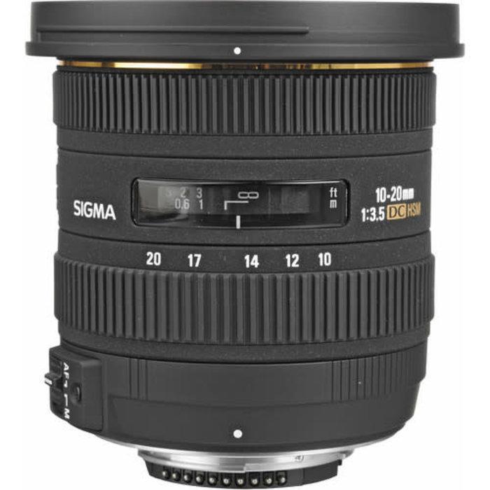 Sigma 10-20mm f/3.5 EX DC HSM Lens for Nikon F