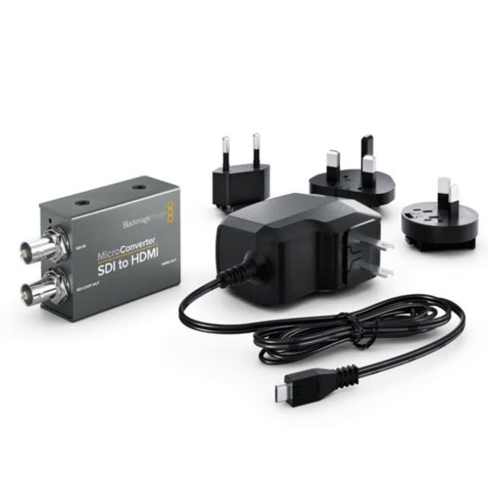 Blackmagic Design Micro Converter - SDI to HDMI with Power Supply