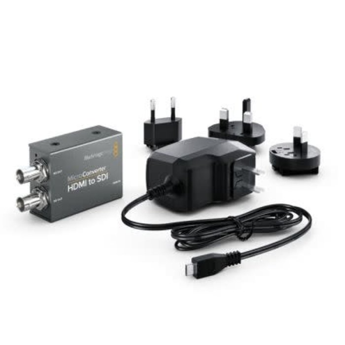 Blackmagic Design Micro Converter - HDMI to SDI with Power Supply