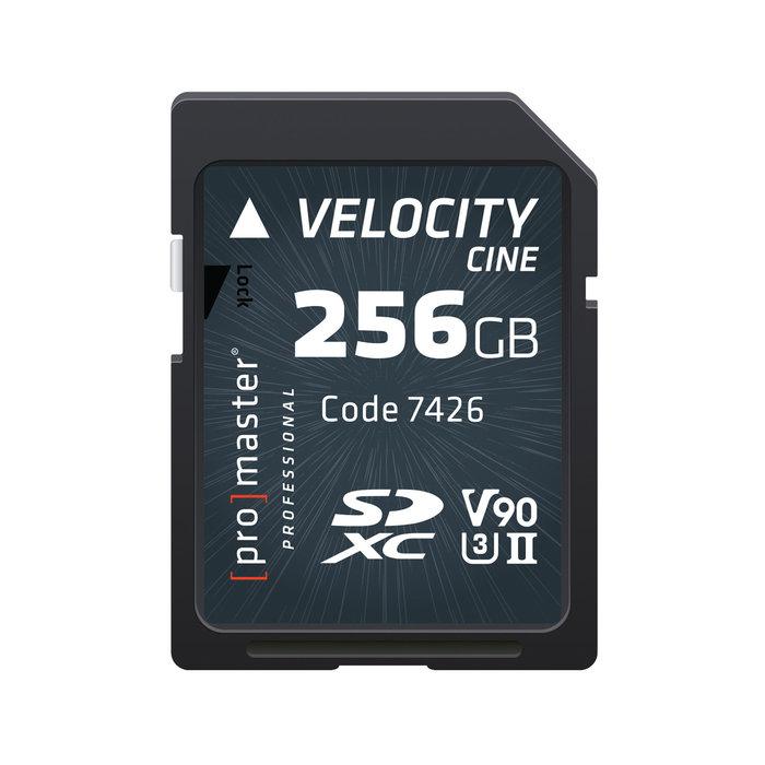 Promaster SDXC 256GB Velocity CINE