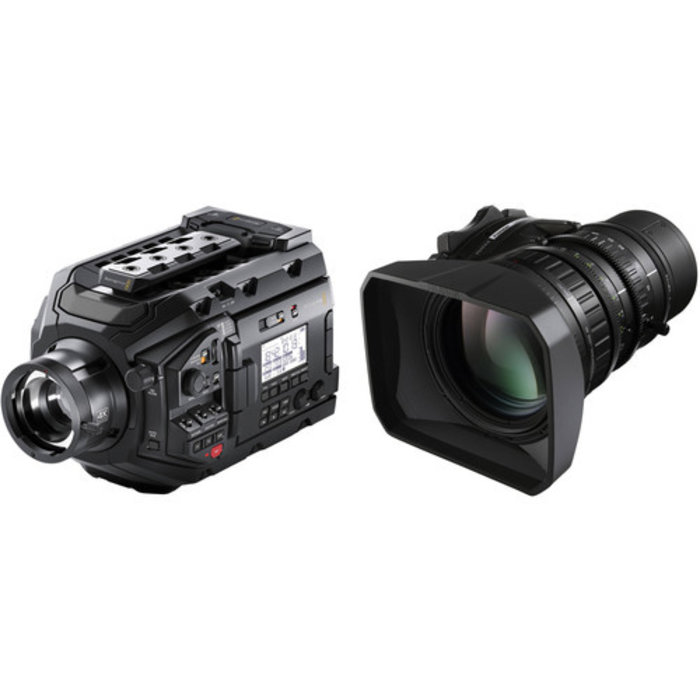 Blackmagic Design URSA Broadcast Camera & Fujinon LA16x8BRM-XB1A Lens Kit