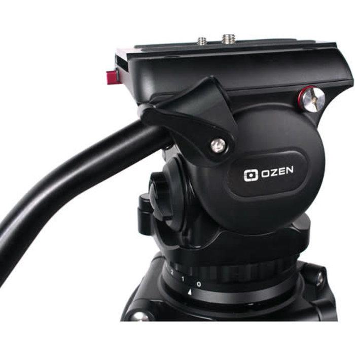 OZEN 10AL2S 100mm AGILE 10S S-LOC Tripod System