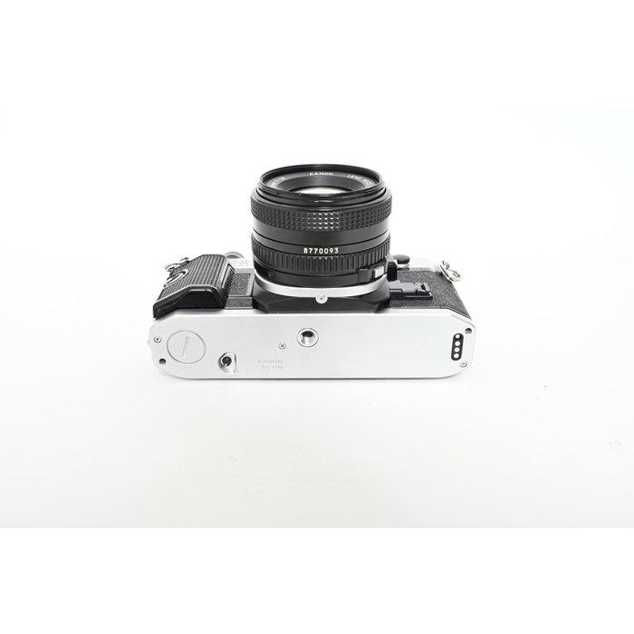 Canon AE-1 Program w/ 50mm f/1.8 FD