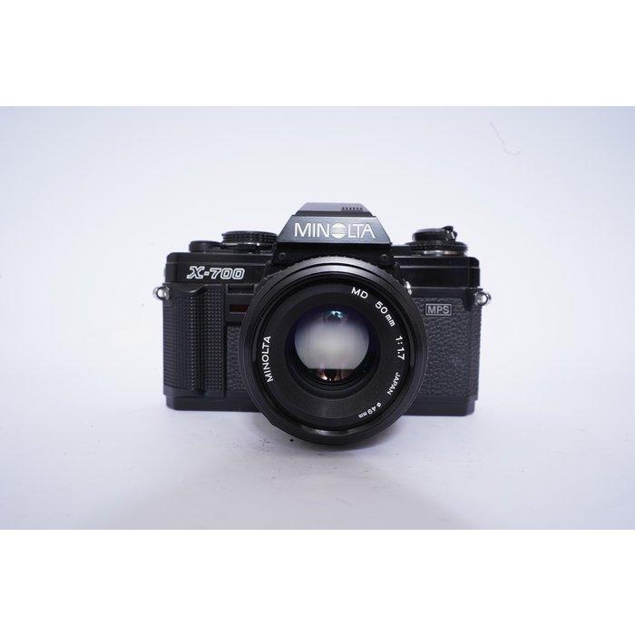 Minolta X-700 MPS w/ 50mm f/1.7 MD