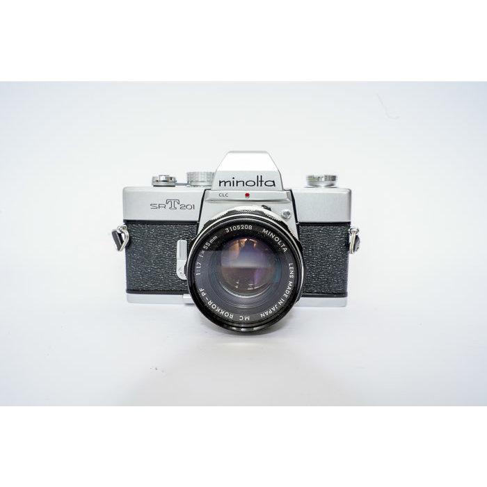 Minolta SRT201 w/ 50mm f/1.7 Rokkor - PF