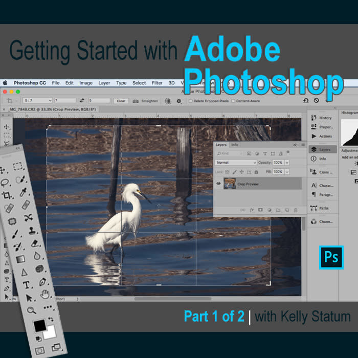 Getting Started with Photoshop (PT 1) (Nov 16th, 2020) DAYTIME