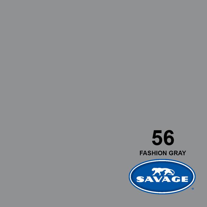 "Savage 107"" Seamless Paper Fashion Gray"