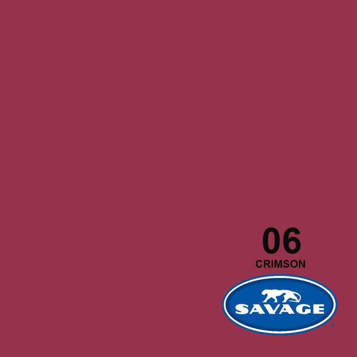 "Savage 107"" Seamless Paper Crimson"