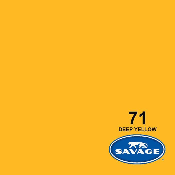 "Savage 107"" Seamless Paper Deep Yellow"