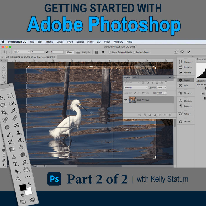 Getting Started with Photoshop (PT 2) -  *Date TBD*