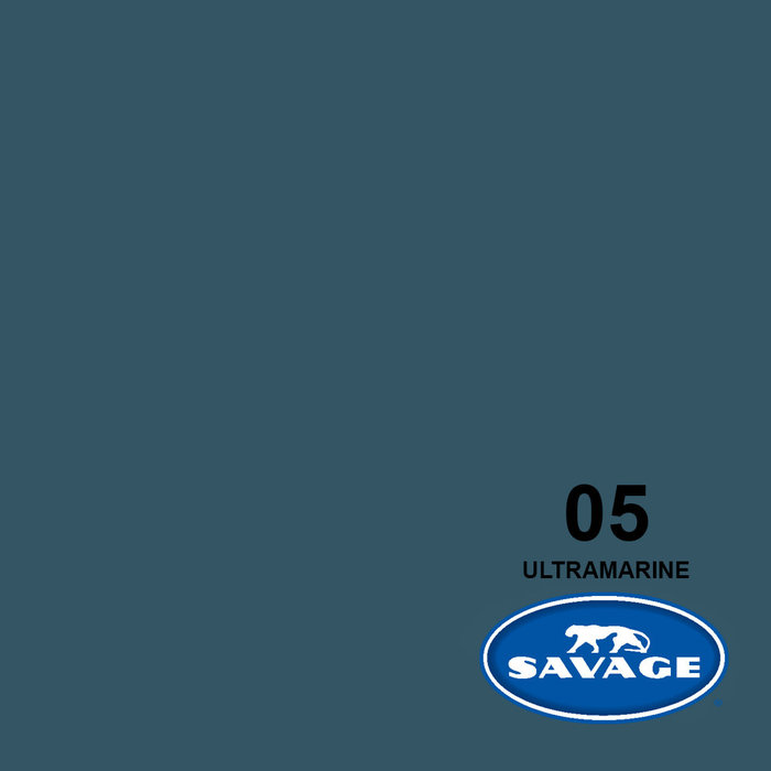 "Savage 107"" Seamless Paper Ultramarine"
