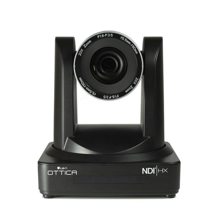 OTTICA™ NDI®|HX PTZ VIDEO CAMERA 20X OPTICAL ZOOM POE 1080/60P