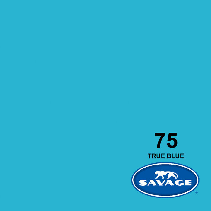"Savage 107"" Seamless Paper True Blue"
