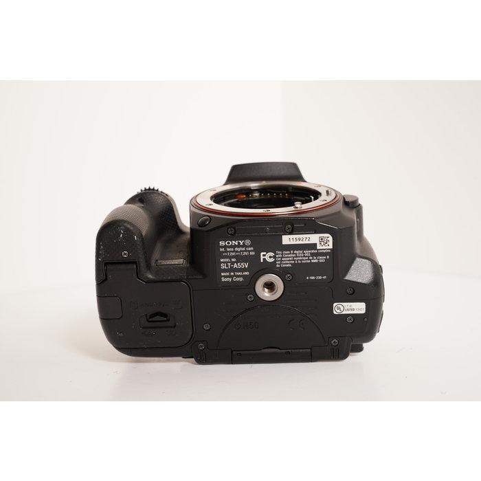 Sony A55 w/A-Mount 18-55mm 3.5-5.6 SAM