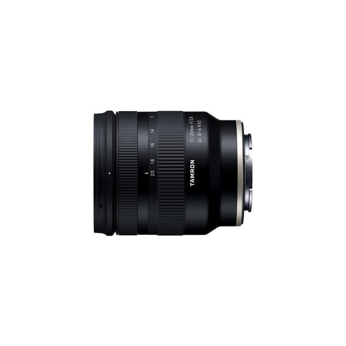 Tamron 11-20mm F/2.8 Di III-A RXD - Sony E mount