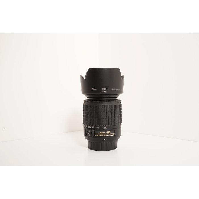 Nikon DX 55-200mm f/4-5.6