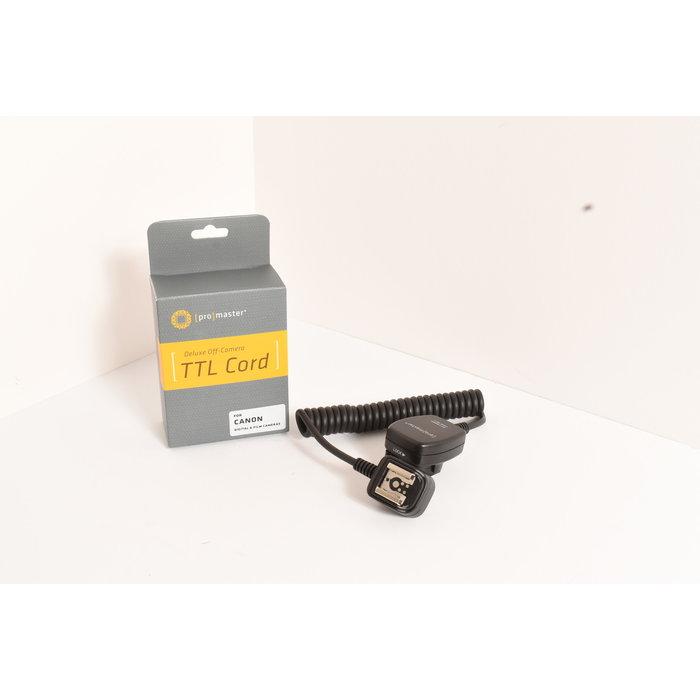 Deluxe Off-Camera TTL Cord