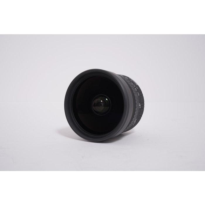 Sigma 8mm f/3.5 EX DG Circular Fisheye Fixed Lens for Nikon SLR Cameras
