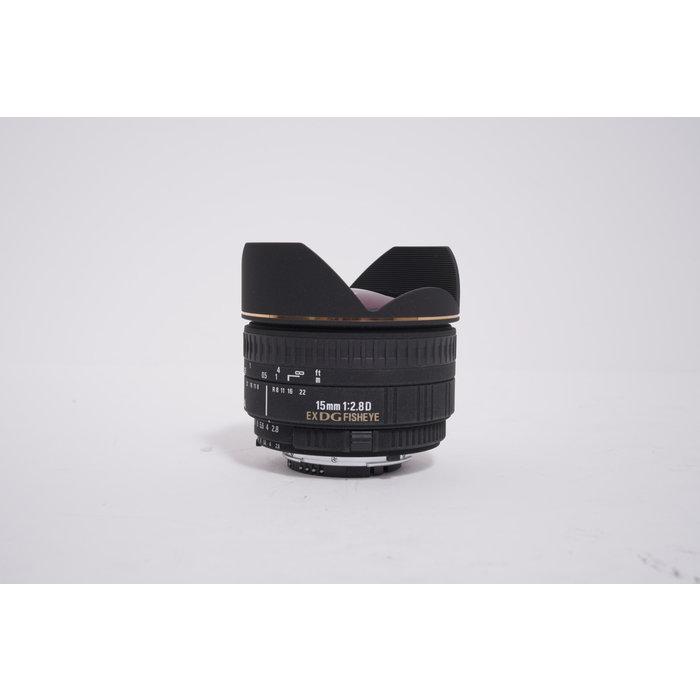 Sigma 15mm f/2.8 EX DG Diagonal Fisheye Lens for Nikon SLR Cameras