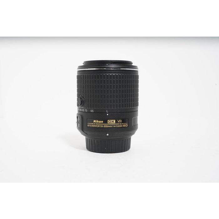 Nikon DX VR AF-S Nikkor 55-200mm F/4-5.6 FII ED