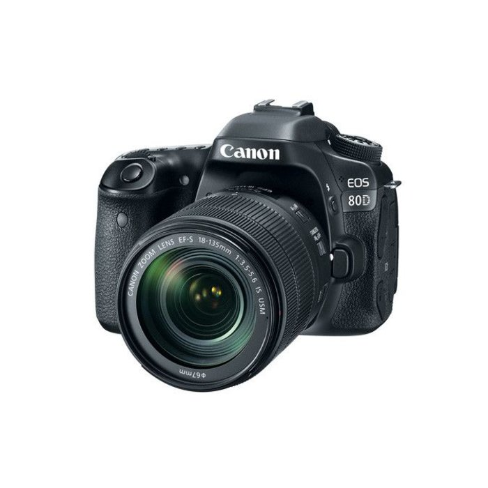 Canon EOS 80D w/ 18-135mm f/3.5-5.6 IS USM