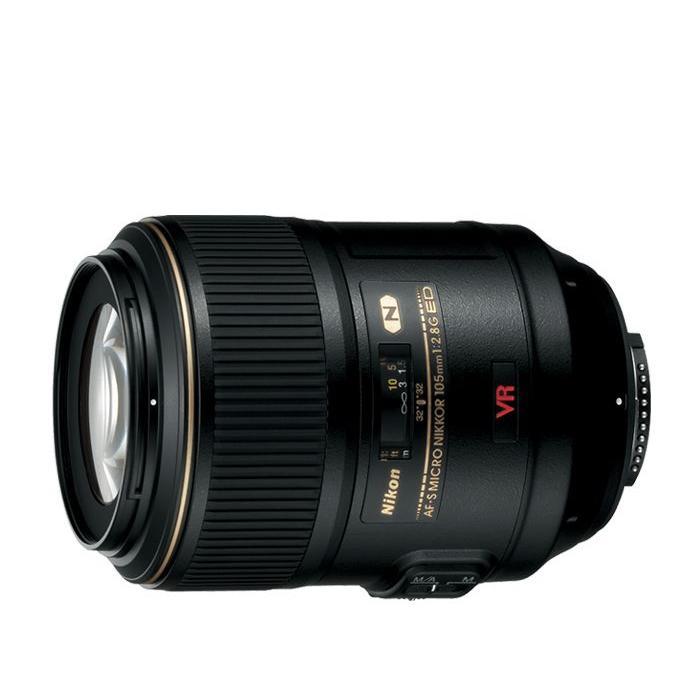 Nikon 105mm f/2.8 Micro AF-S VR