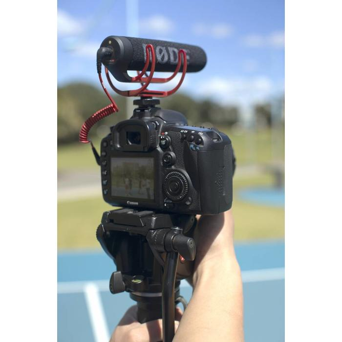 Rode VideoMic Go Lightweight On-Camera Microphone with Rycote