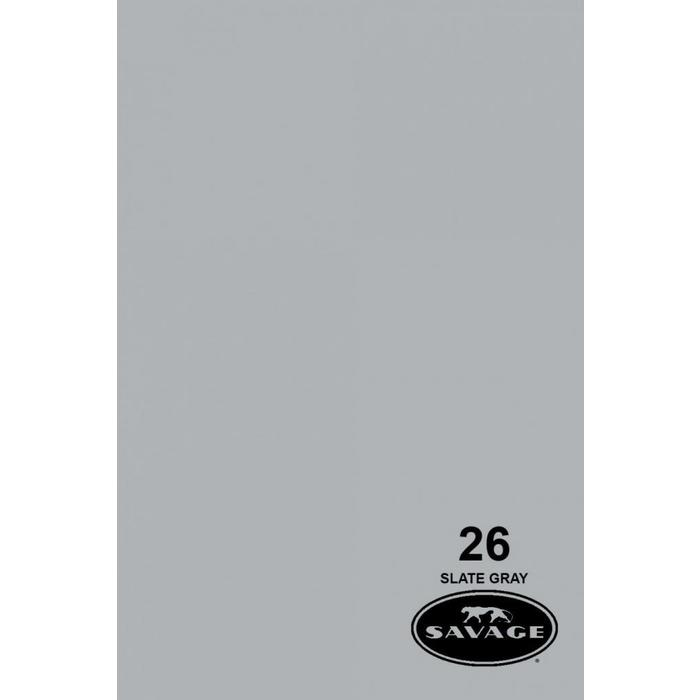 "Savage 107"" Seamless Paper Slate Gray"