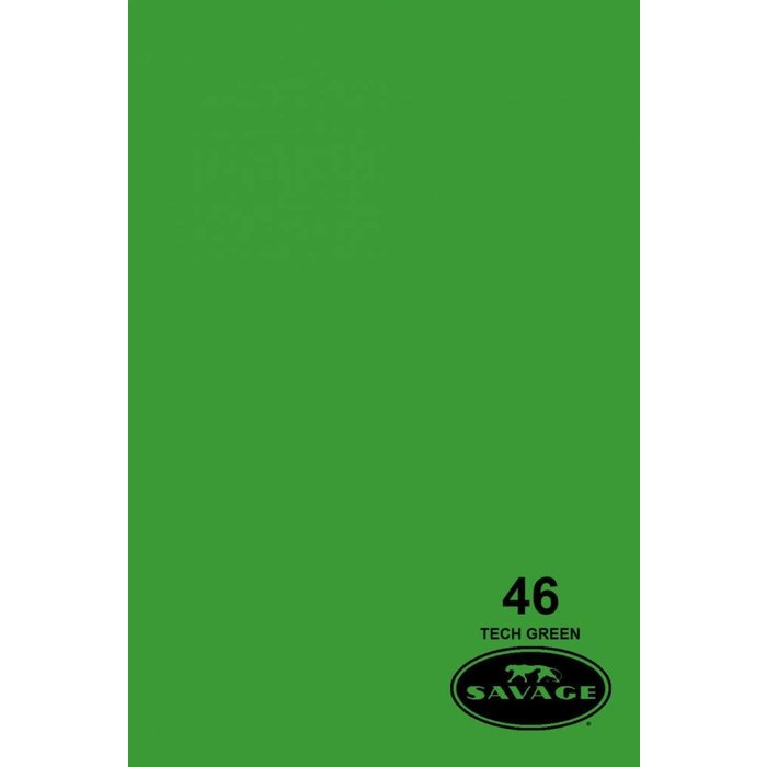 "Savage 107"" Seamless Paper Tech Green"