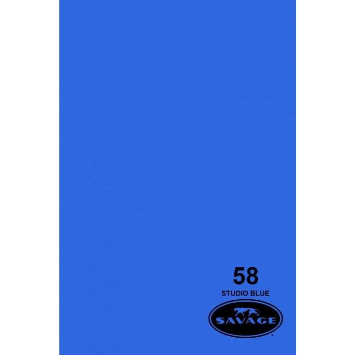 "Savage 53"" Seamless Paper Studio Blue"