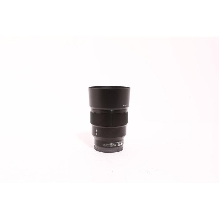 Sony Fe 85mm F1.8 lens