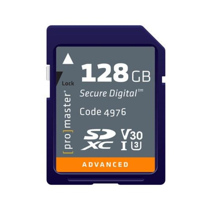 ProMaster SDHC 128GB Advanced 633x U3