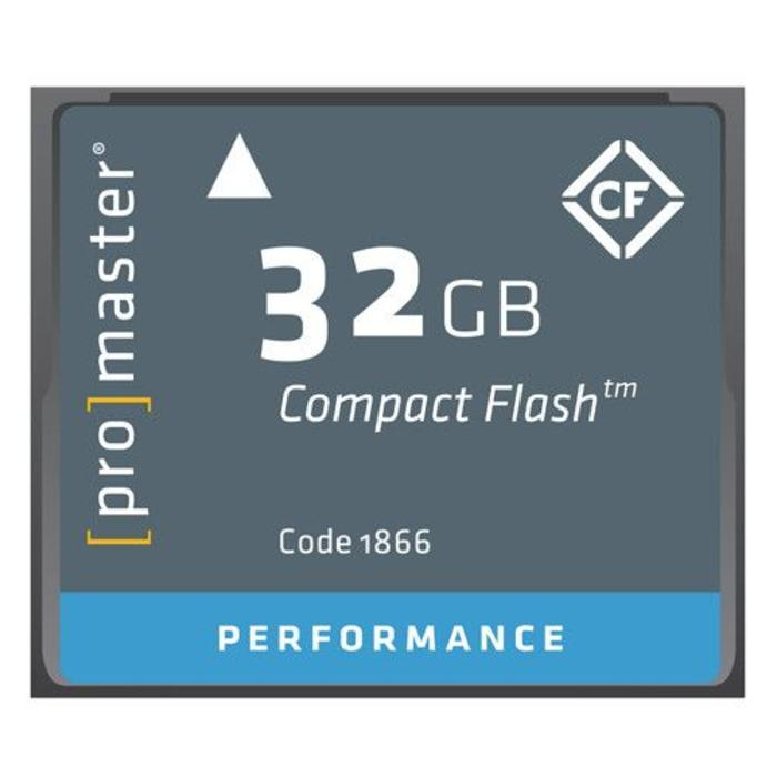 ProMaster CF 32GB Performance