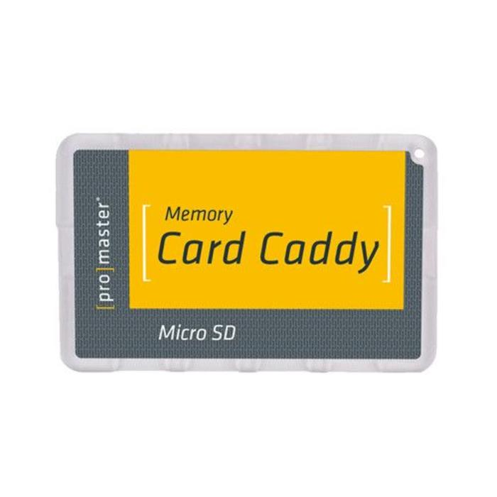 Promaster Memory Card Caddy - Micro SD
