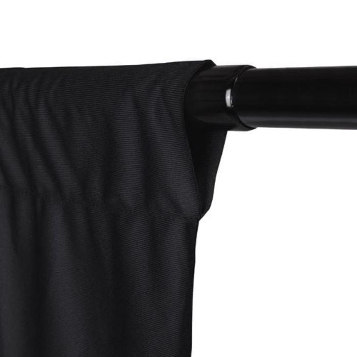 ProMaster 10x12 Solid Muslin Backdrop - Black