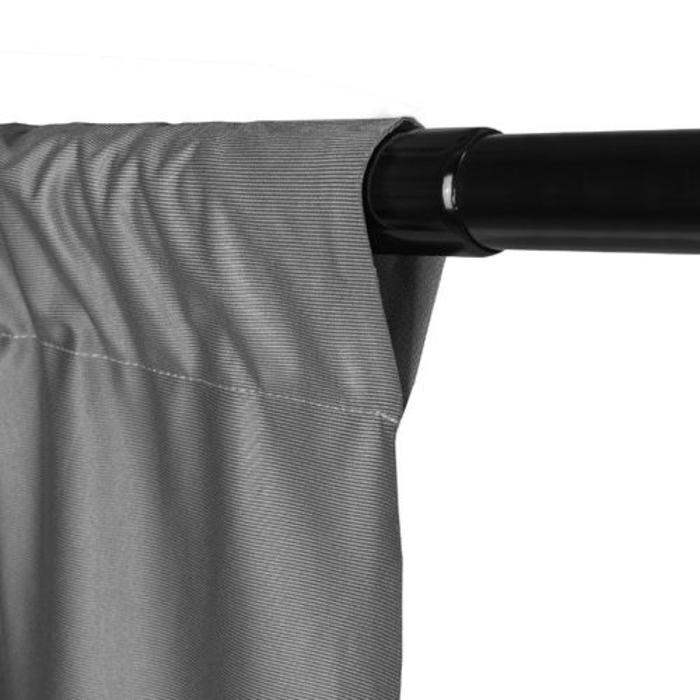 ProMaster 10x12 Solid Muslin Backdrop - Grey