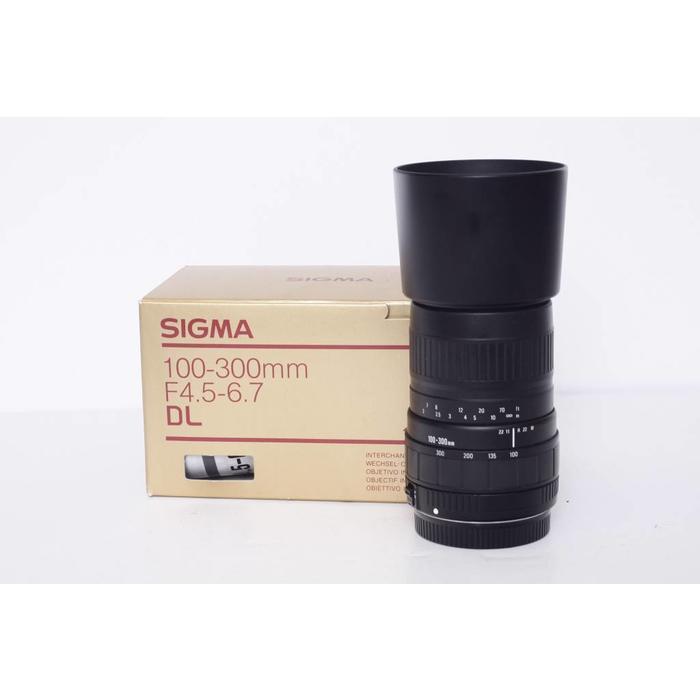 Sigma AF 100-300mm f/4.5-6.7 UC - Canon