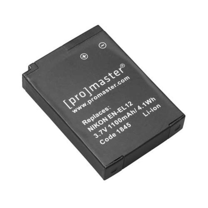 ProMaster EN-EL12 Battery - Nikon Coolpix B600, A900, AW120, S9600