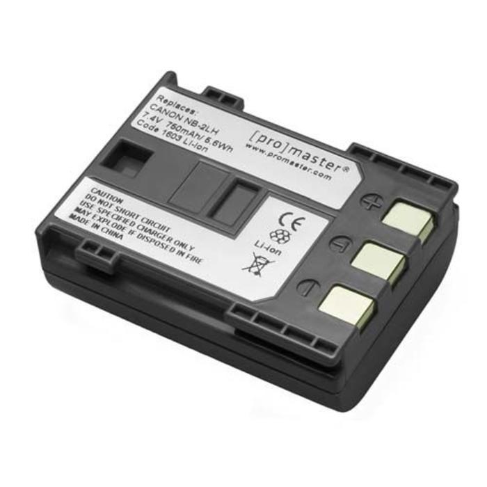 ProMaster NB-2LH Battery - Canon VIXIA HV40, VIXIA HF R10